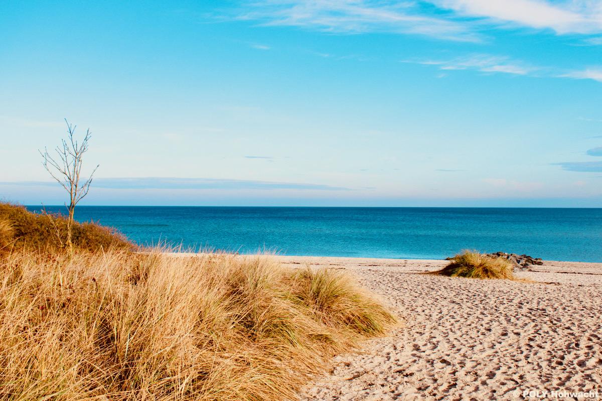 Hohwachter Strand bei Sonnenschein
