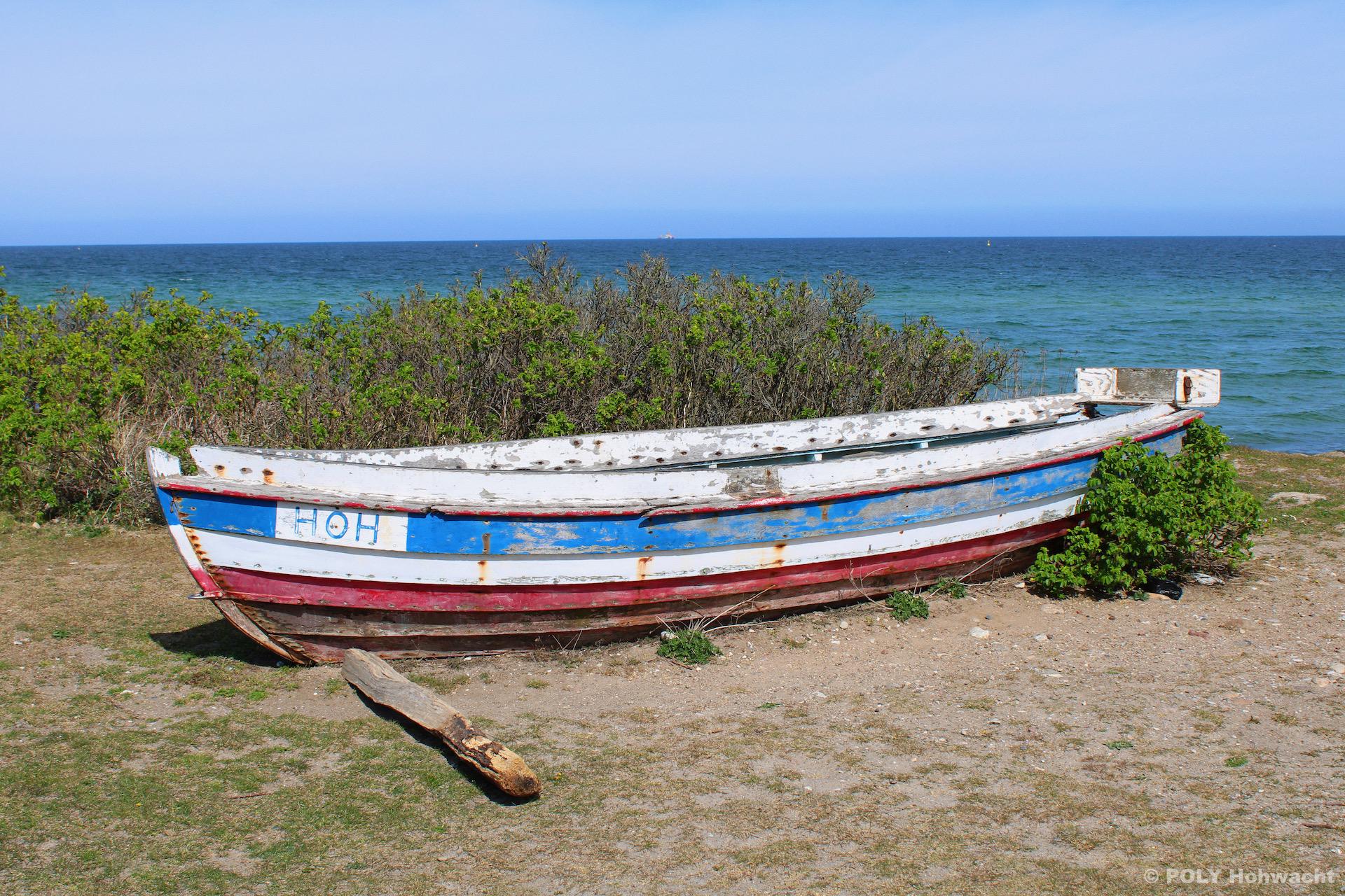 Altes Ruderboot Hohwacht